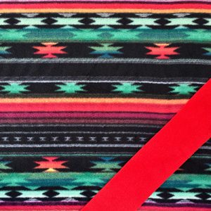 Black Aztec Red